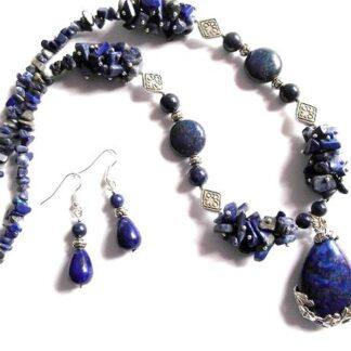Set cadou lapis lazuli, set cadou femei 36646